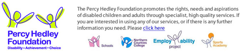 Percy Hedley Banner